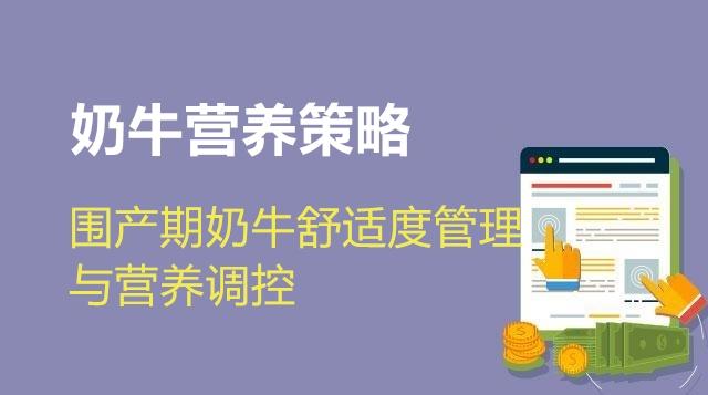 第01节 围产期奶牛舒适度管理与营养调控-王艳明